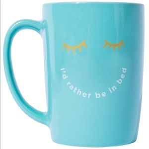 New I'd rather be in bed mug Ayesha Curry FFF